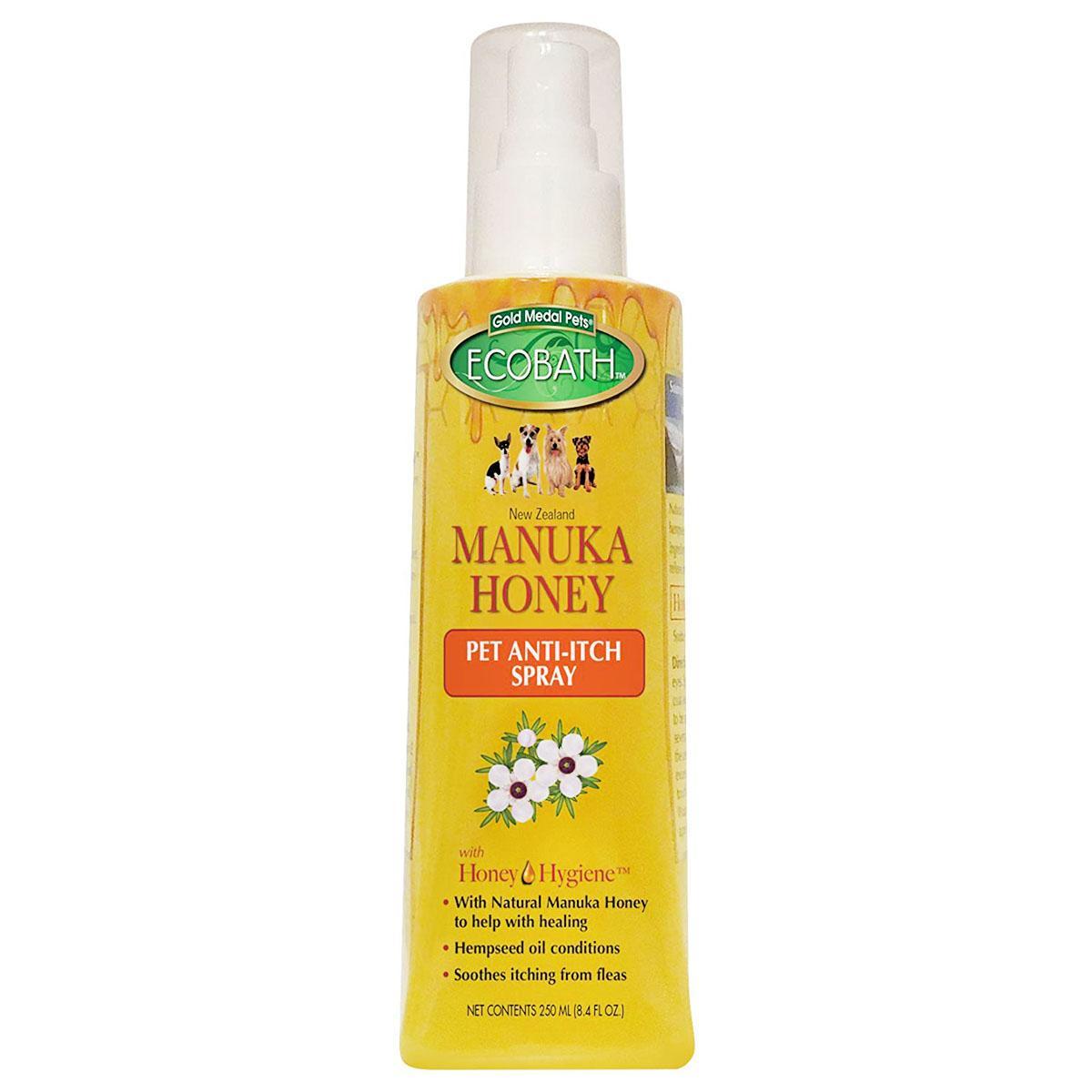 EcoBath Manuka Honey Pet Anti-Itch Spray by Cardinal Pet Care