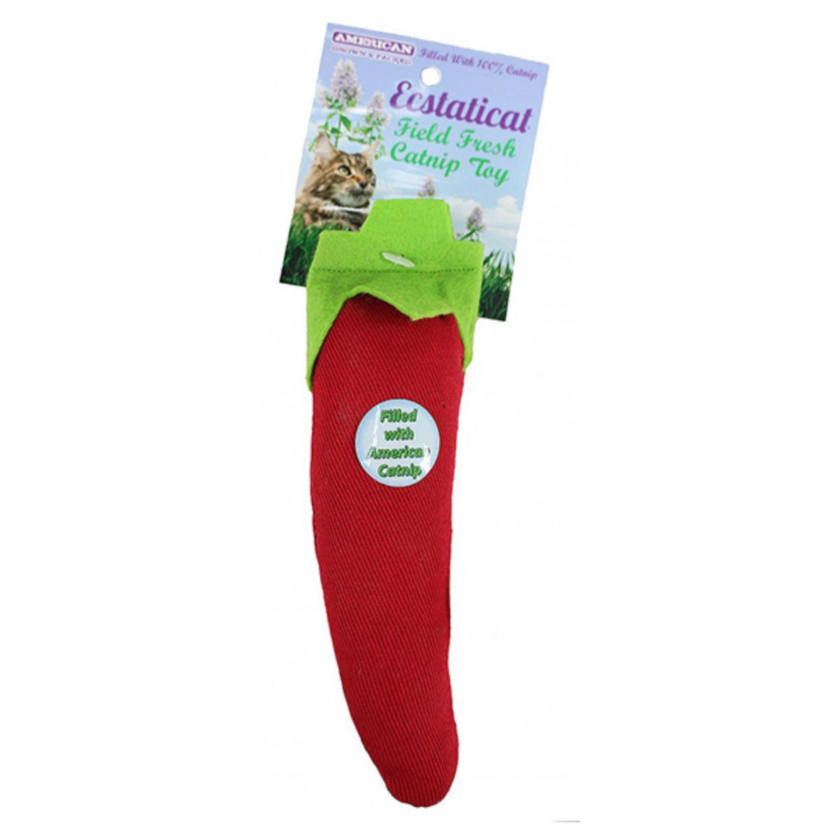 Ecstaticat Catnip Pepper Cat Toy
