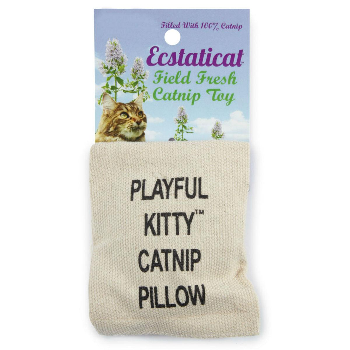 Ecstaticat Catnip Pillow Cat Toy