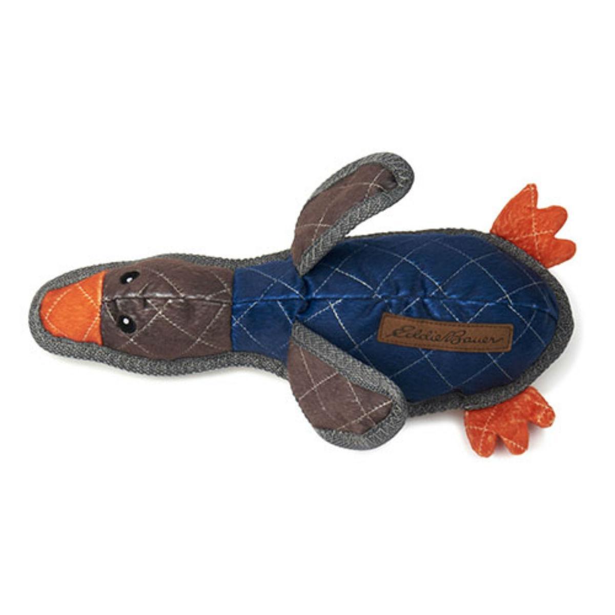 Eddie Bauer Duck Dog Toy - Navy