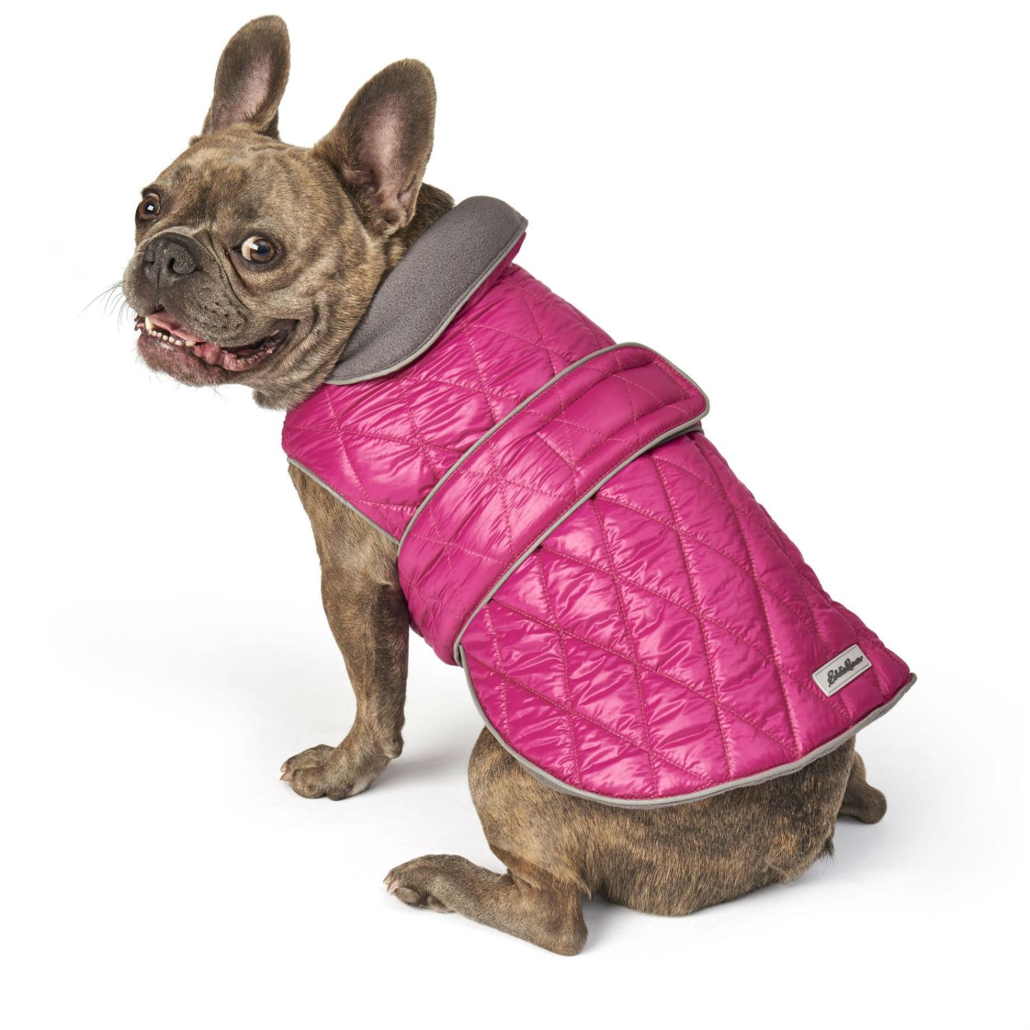 Eddie Bauer Friday Harbor Reversible Dog Vest - Fuschia/Gray