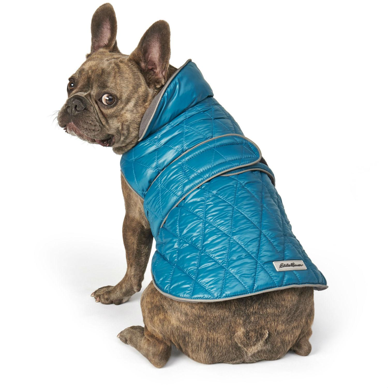 Eddie Bauer Friday Harbor Reversible Dog Vest - Teal/Gray