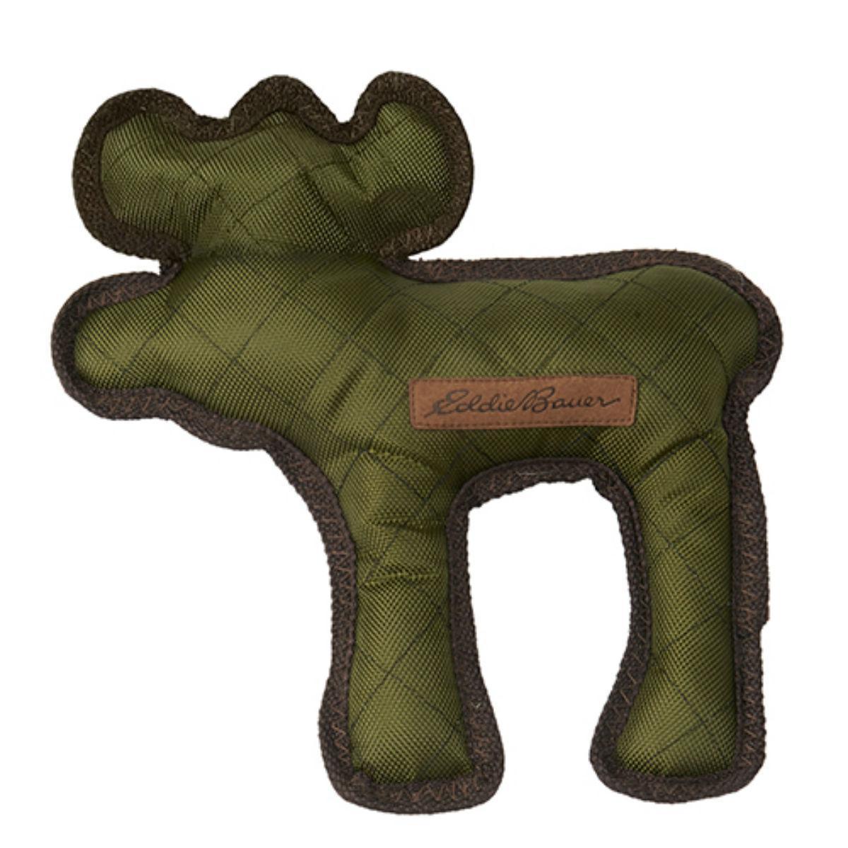 Eddie Bauer Moose Dog Toy - Sprig Green