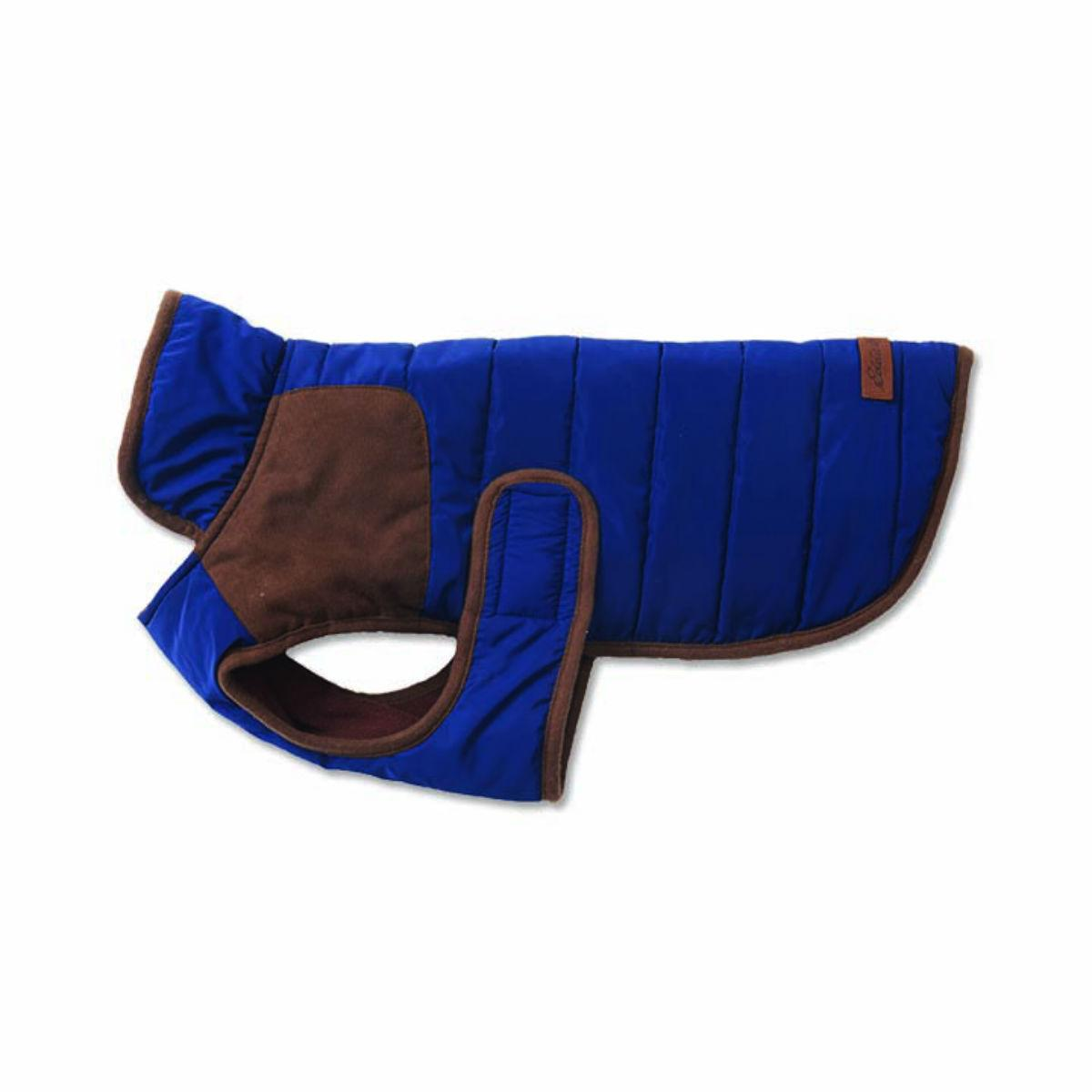 Eddie Bauer Quilted Field Dog Coat - Navy