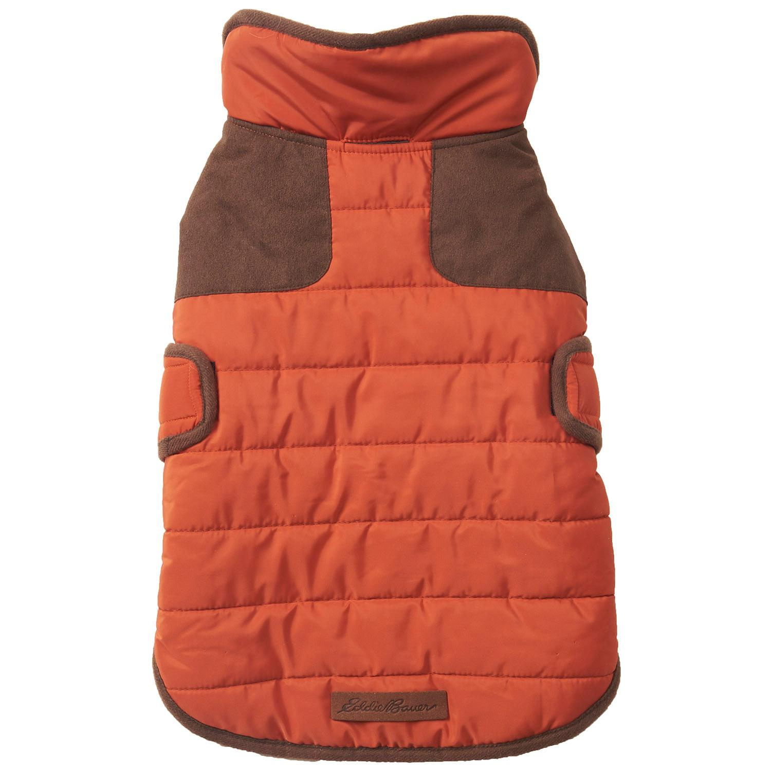 Eddie Bauer Quilted Field Dog Coat - Picante