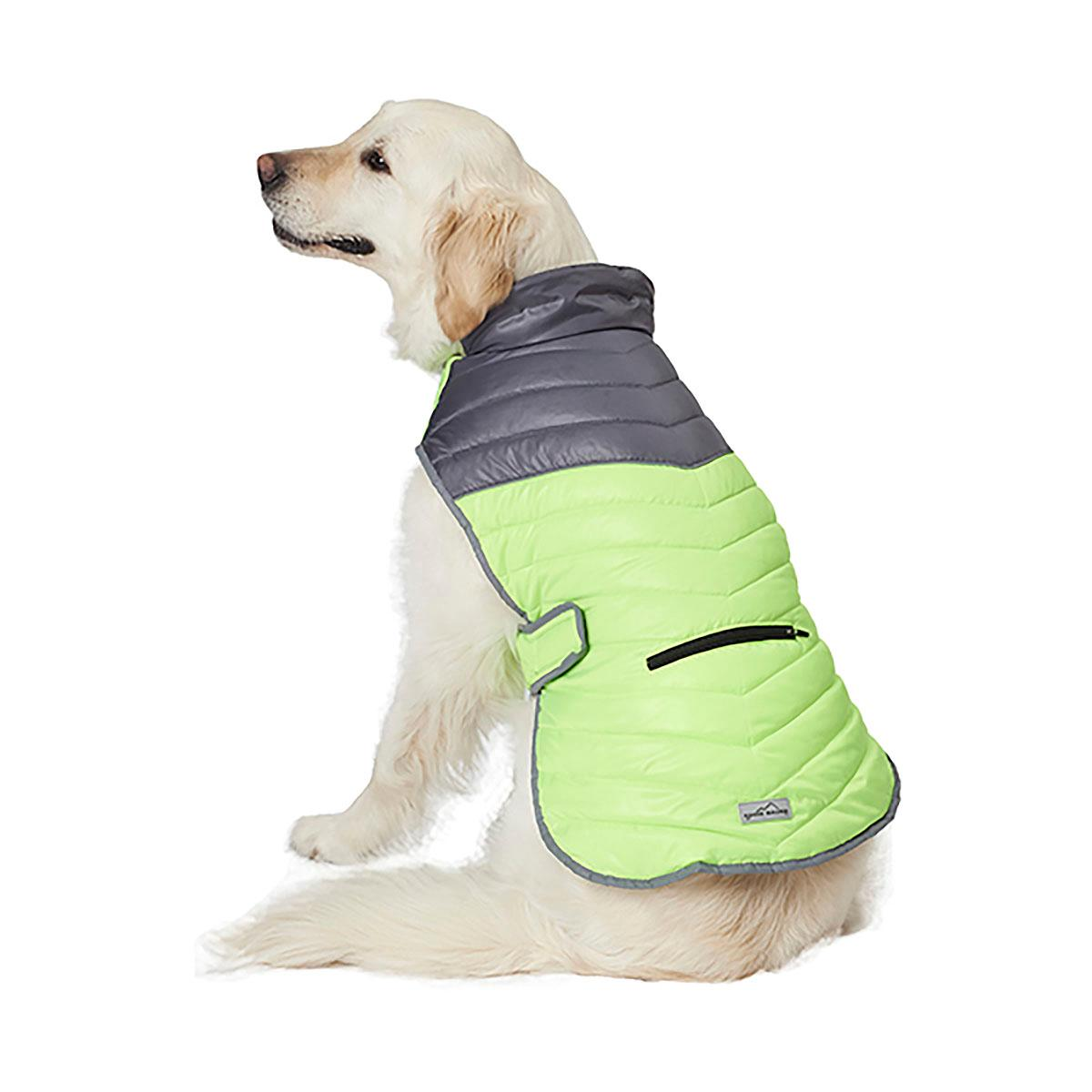 Eddie Bauer Snowfield Performance Dog Vest - Gray/Green