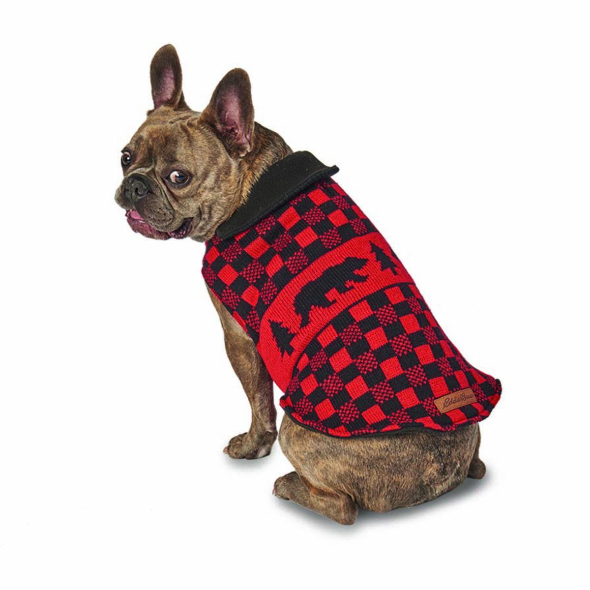 Eddie Bauer Woods Creek Fleece Lined Dog Sweater