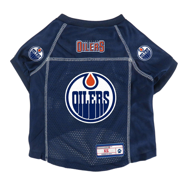Edmonton Oilers Dog Jersey - Navy Blue