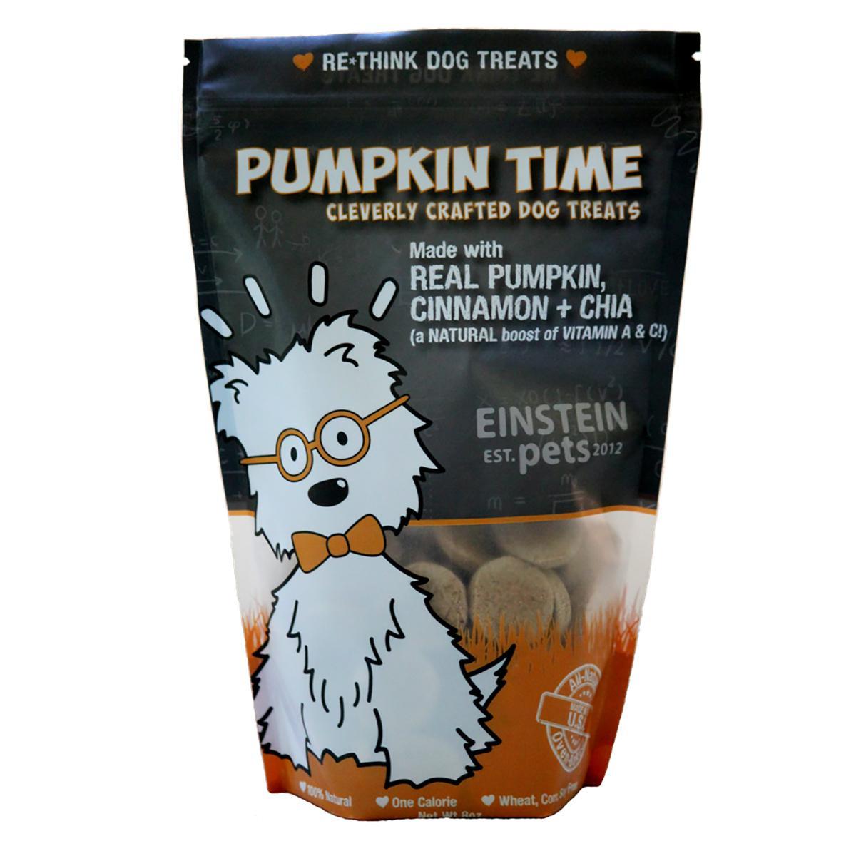 Einstein Pets Pumpkin Time Dog Treat