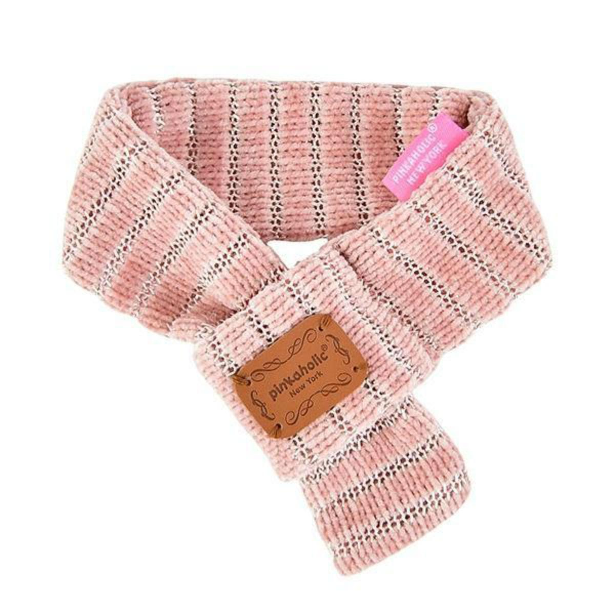 Elicia Muffler Dog Scarf by Pinkaholic - Indian Pink