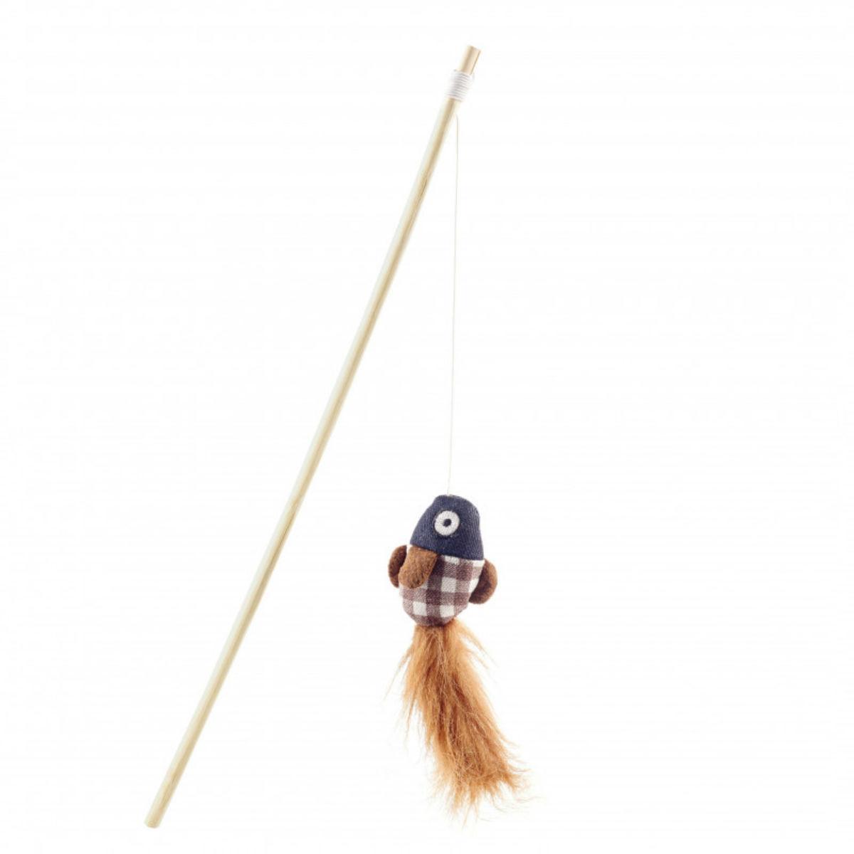 HUNTER Elroy Dangler Cat Toy With Catnip - Fish