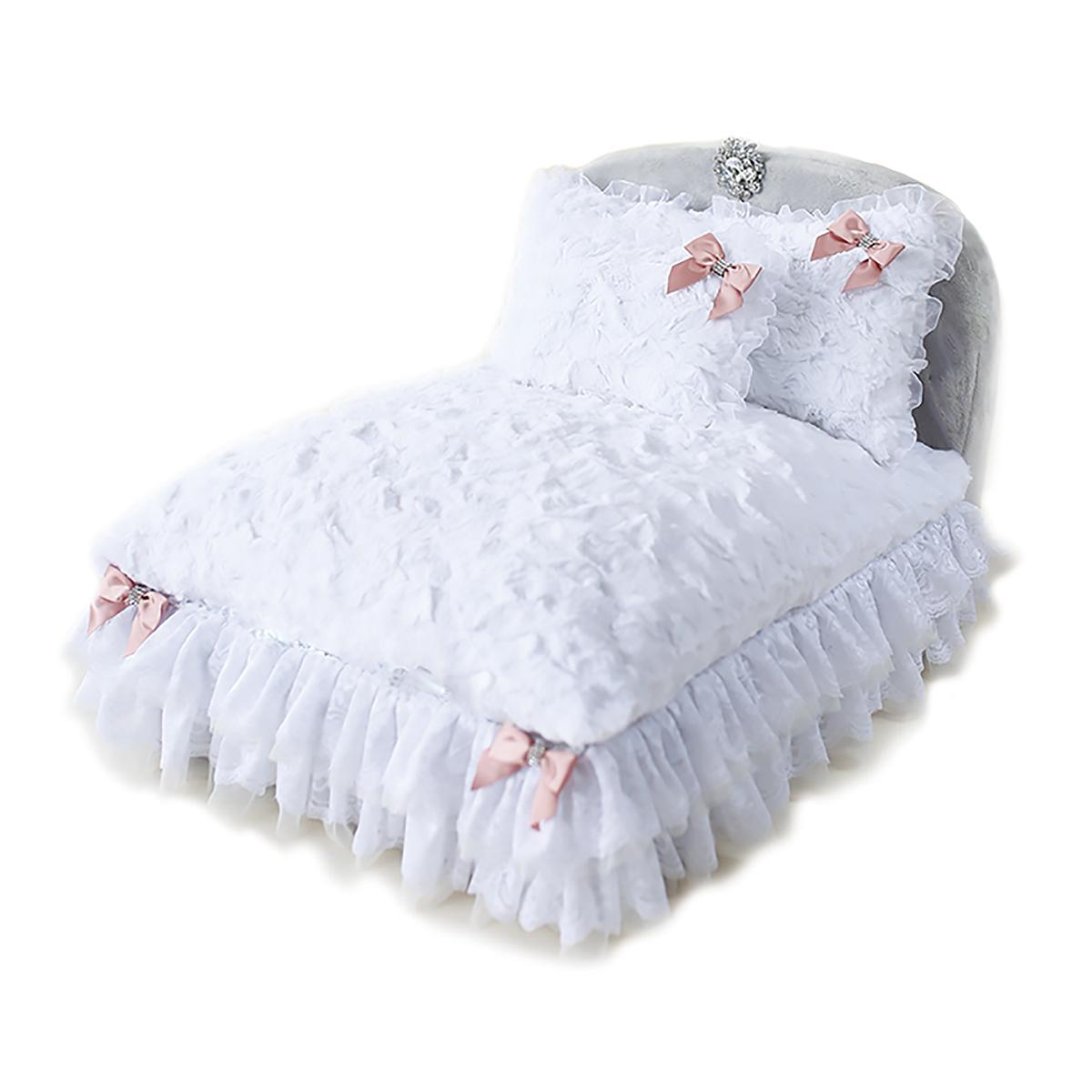 Enchanted Nights Luxury Dog Bed by Hello Doggie - Sterling