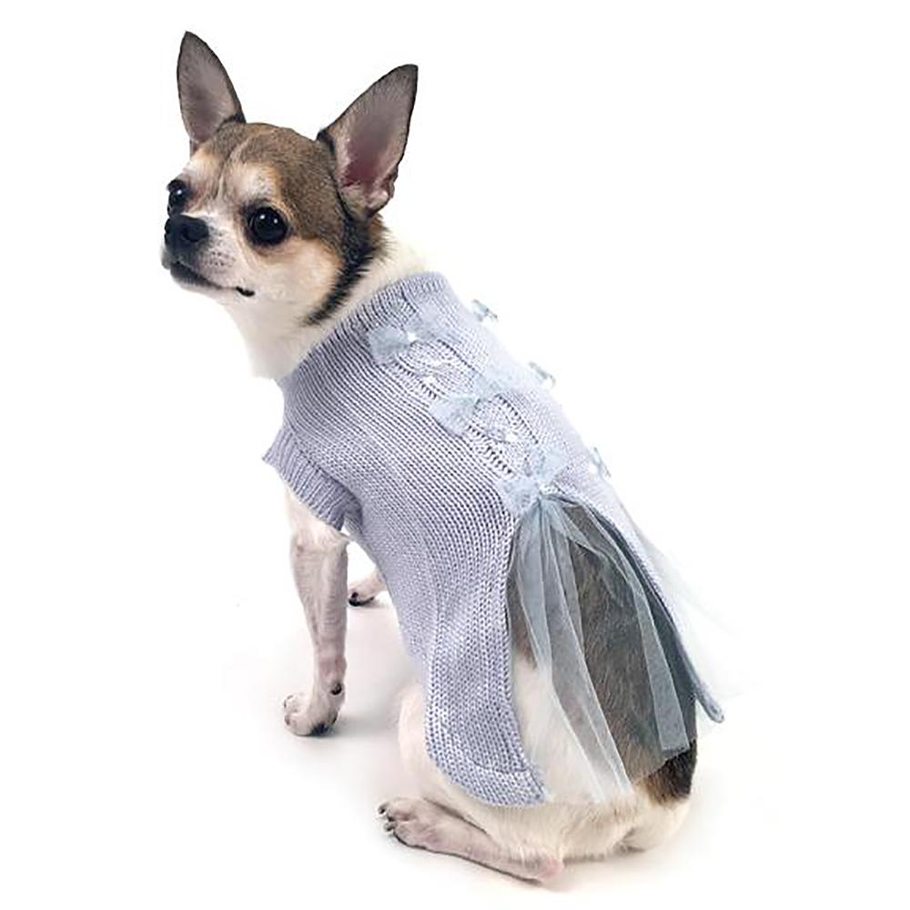 Ethereal Twilight Dog Sweater By Oscar Newman