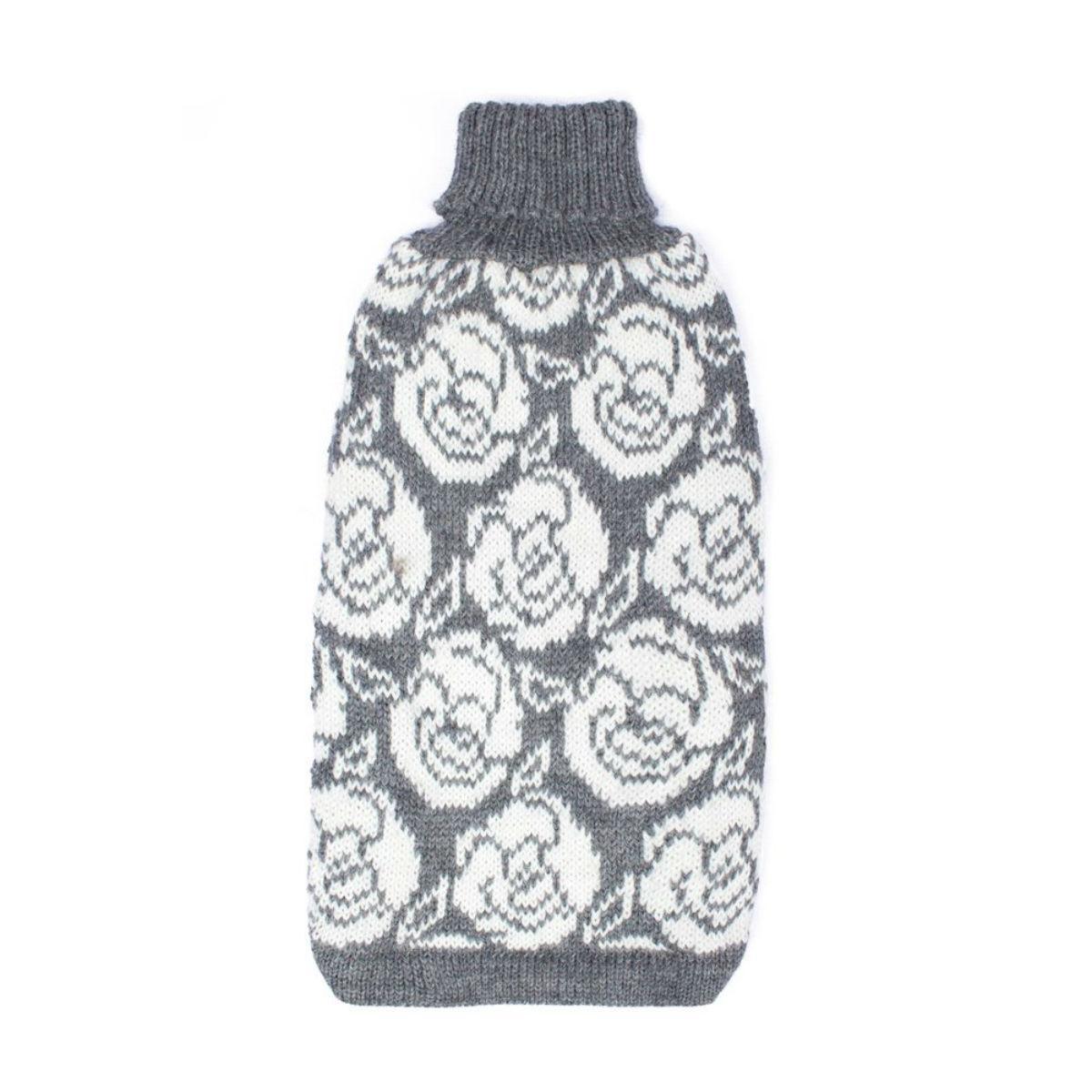 I Love Roses Alpaca Dog Sweater by Alqo Wasi
