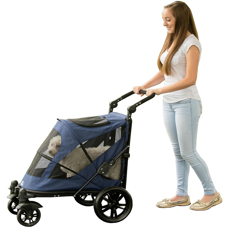 Excursion No-Zip Pet Stroller - Midnight Blue