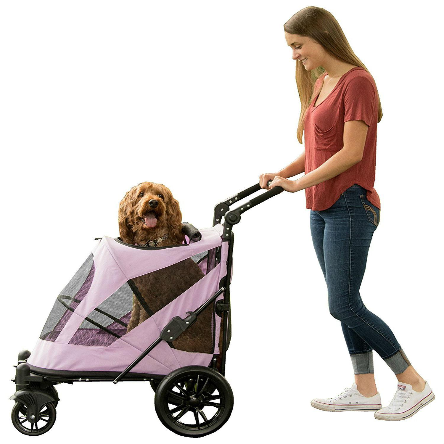 Excursion No-Zip Pet Stroller - Mountain Lilac