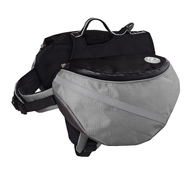 Extreme Outdoor EX Backpack by Doggles - Gray/Black