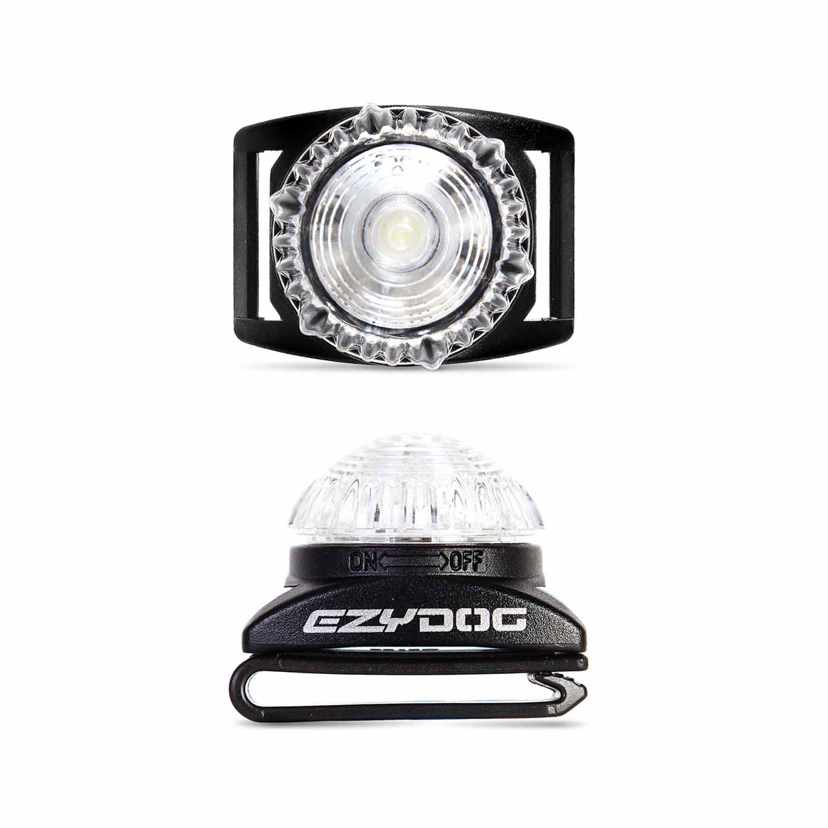 EzyDog Adventure Light Dog Beacon - White