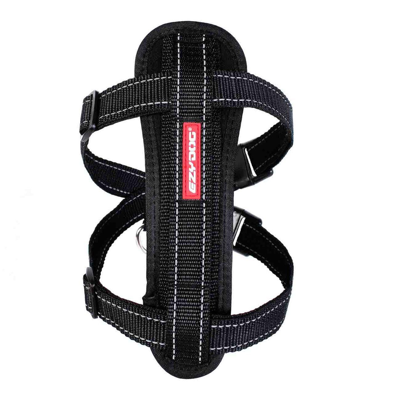 EzyDog Chest Plate Dog Harness - Black