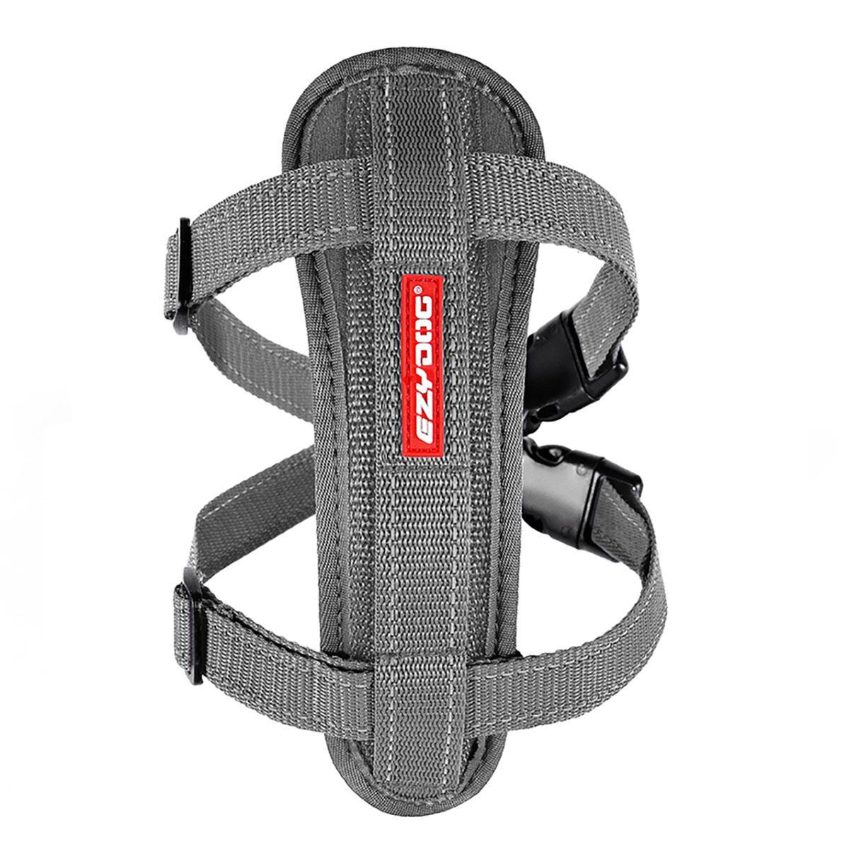EzyDog Chest Plate Dog Harness - Gray