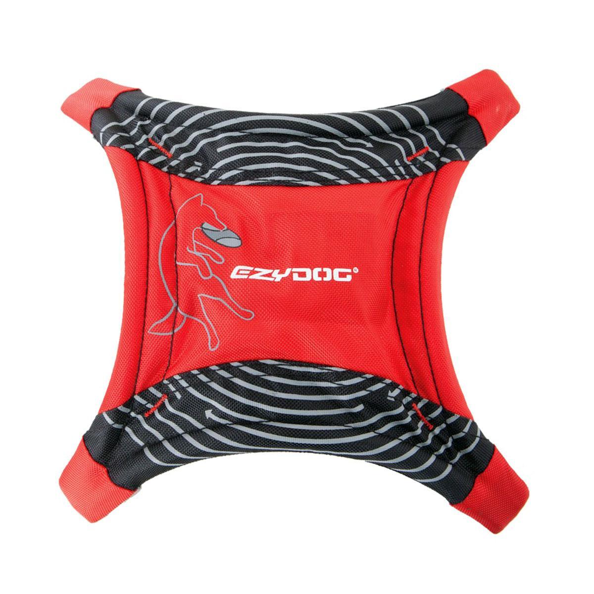 EzyDog Dogstar Flyer Dog Toy - Red