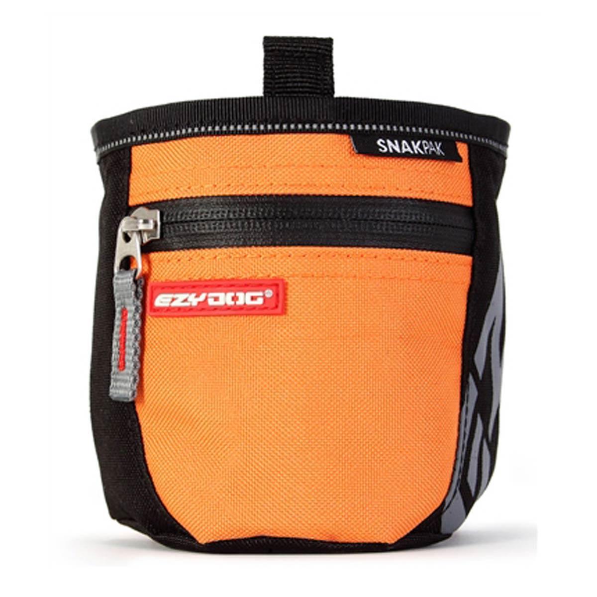 Ezydog Snakpak Dog Treat Bag Orange
