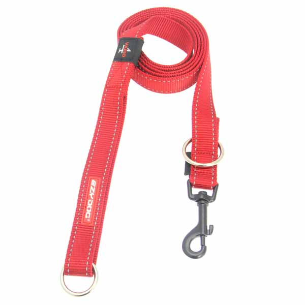 EzyDog Vario 4 Multifunctional Dog Leash - Red