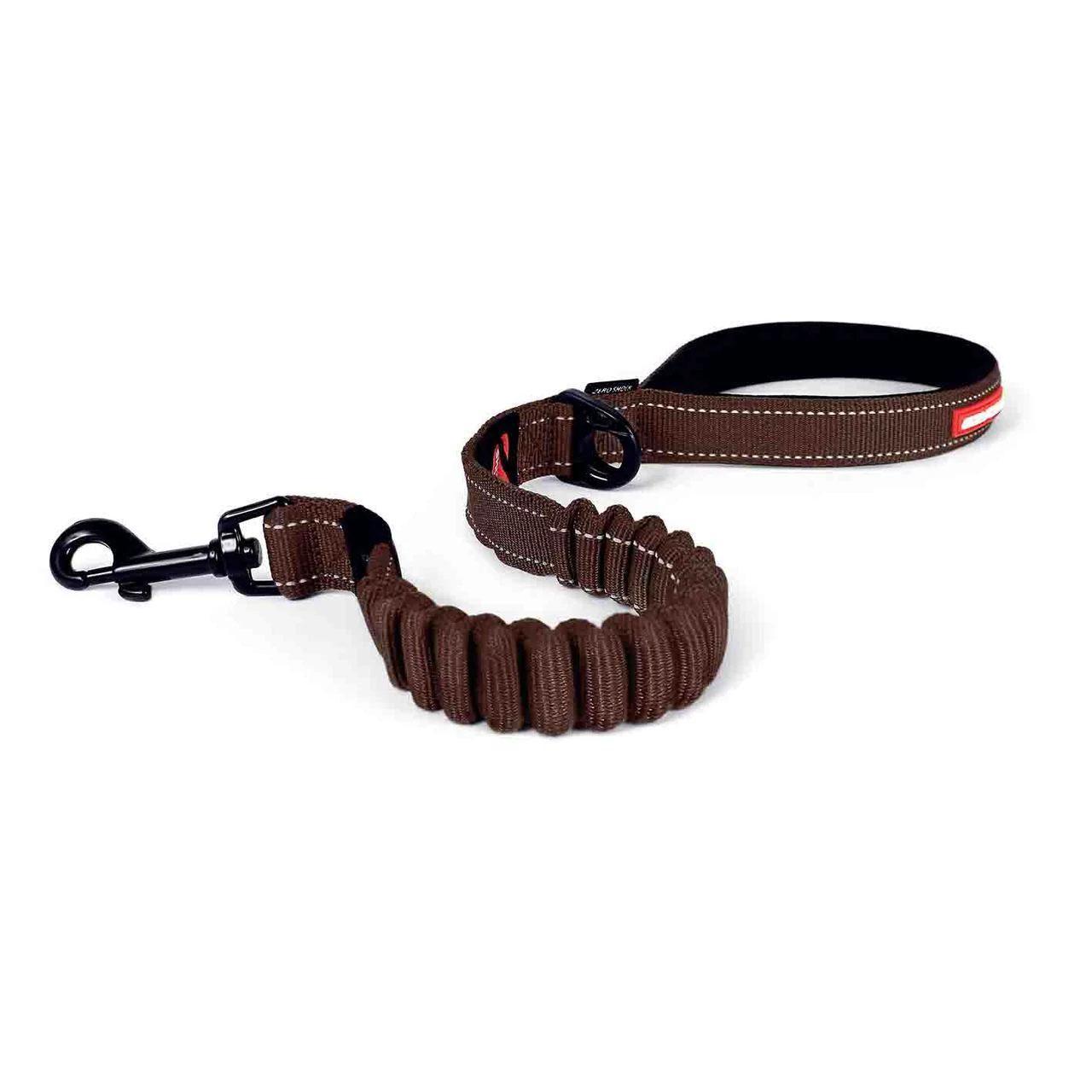 EzyDog Zero Shock Dog Leash - Chocolate