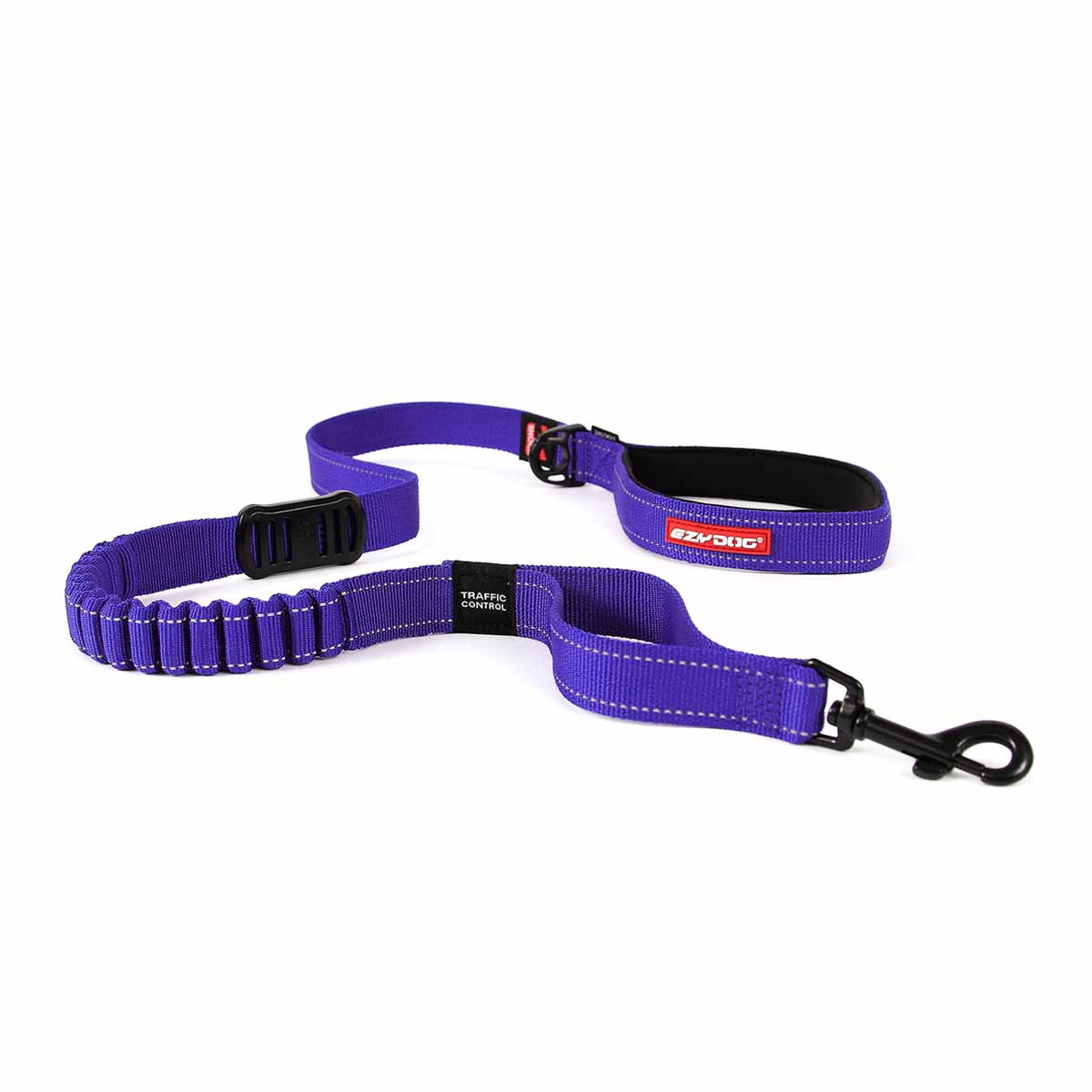 EzyDog Zero Shock Dog Leash - Purple