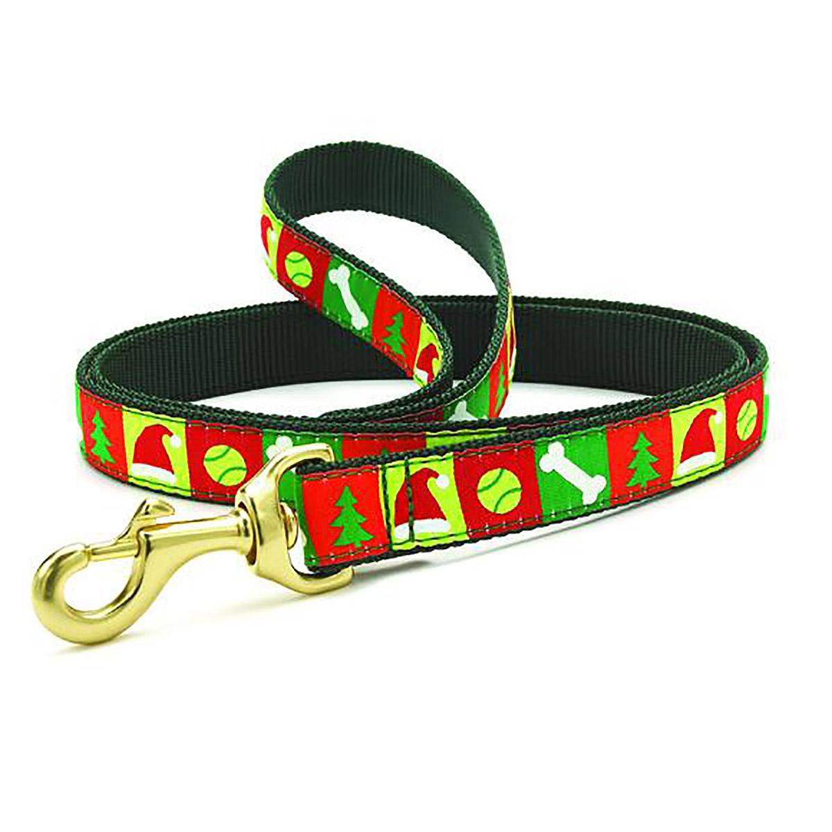 Christmas List Dog Leash by Up Country