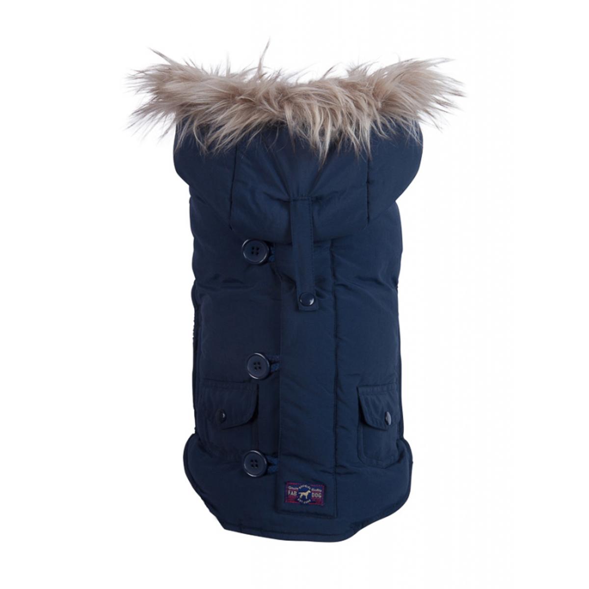 fabdog® Snorkel Dog Jacket - Navy