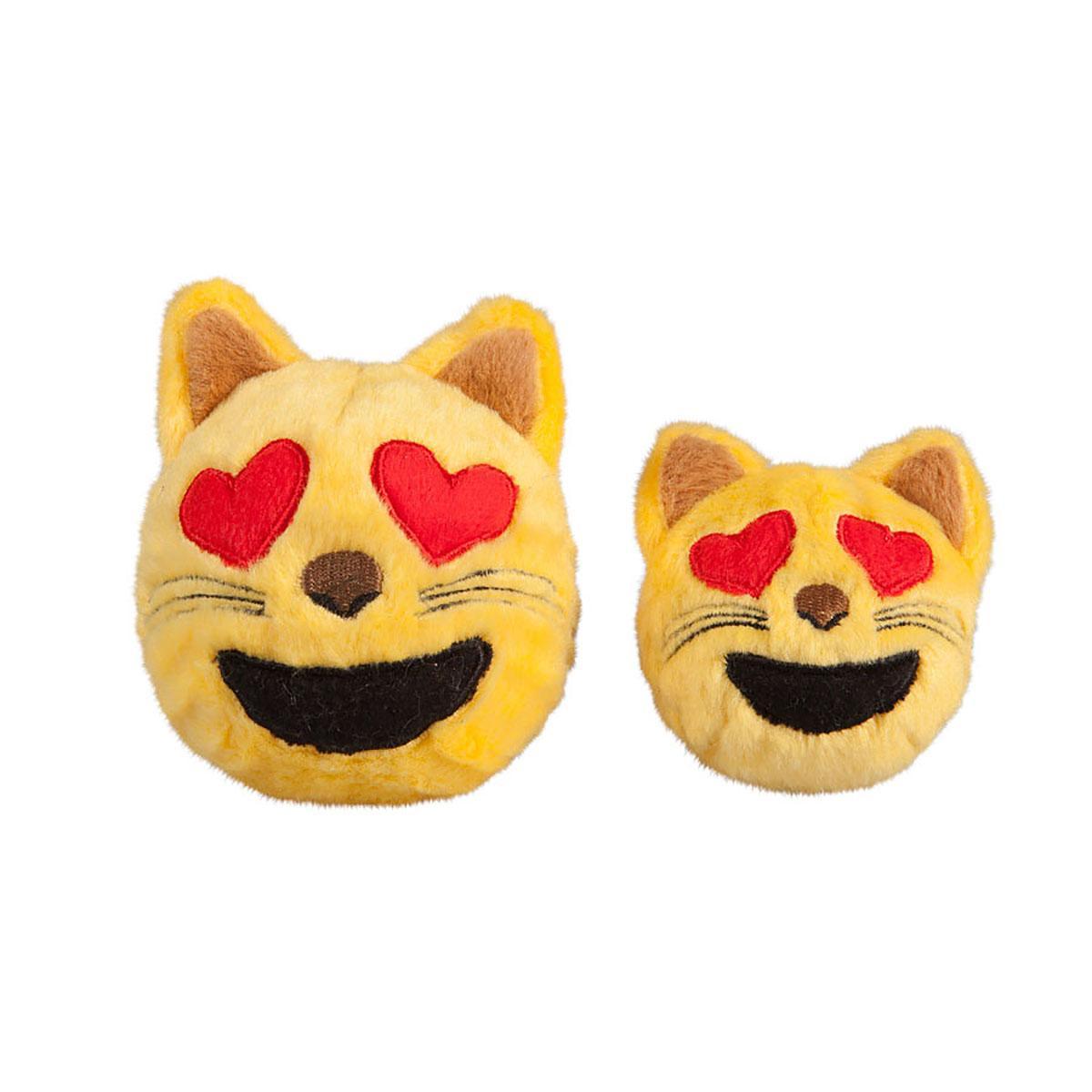 fabdog® Cat Emoji faball® Dog Toy
