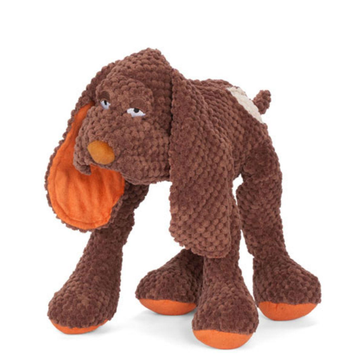 fabdog® Floppy Friends Dog Toy - Brown Dog