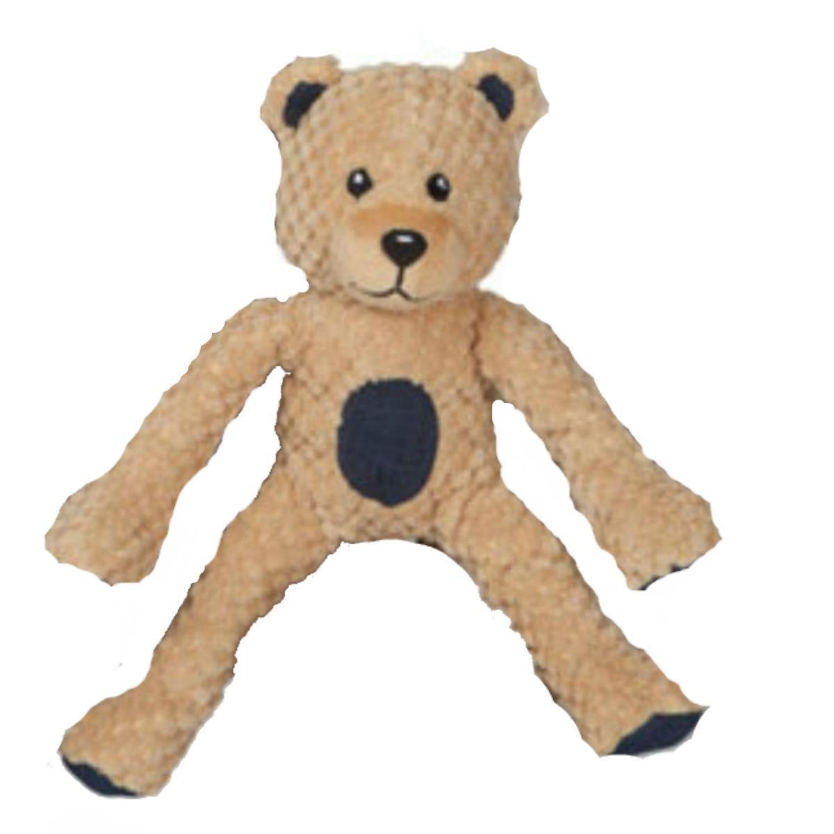 fabdog® Floppy Friends Dog Toy - Camel Teddy Bear