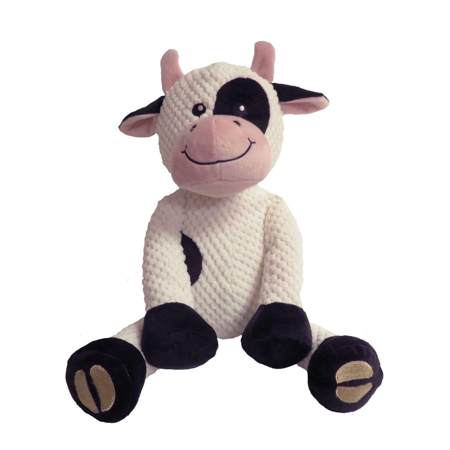 fabdog® Floppy Friends Dog Toy - Cow