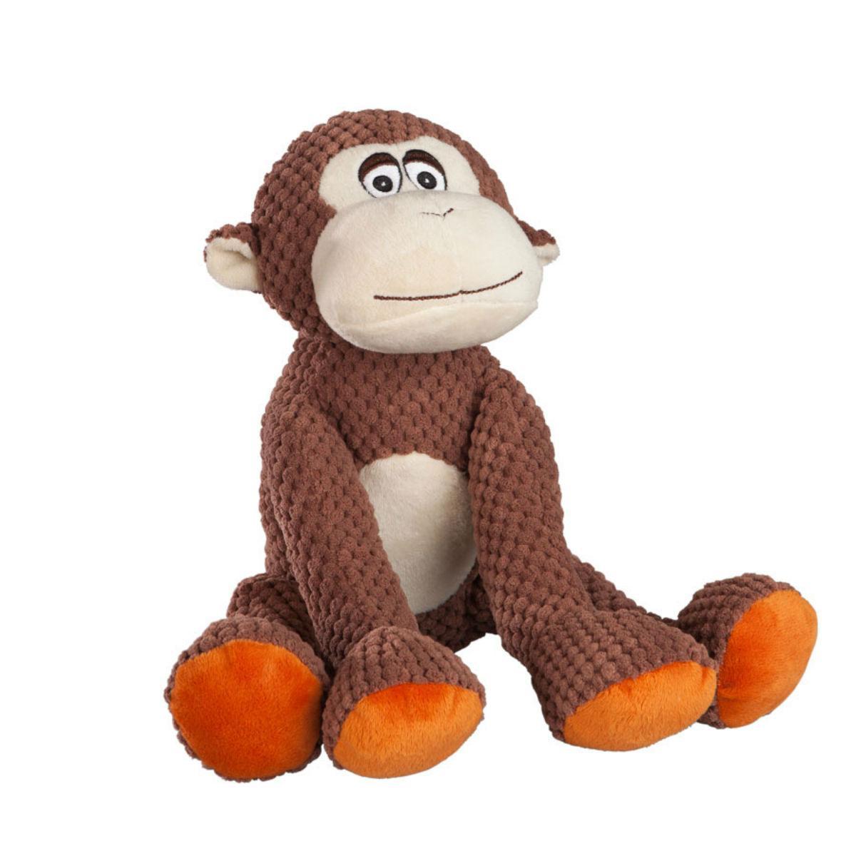 fabdog® Floppy Friends Dog Toy - Monkey