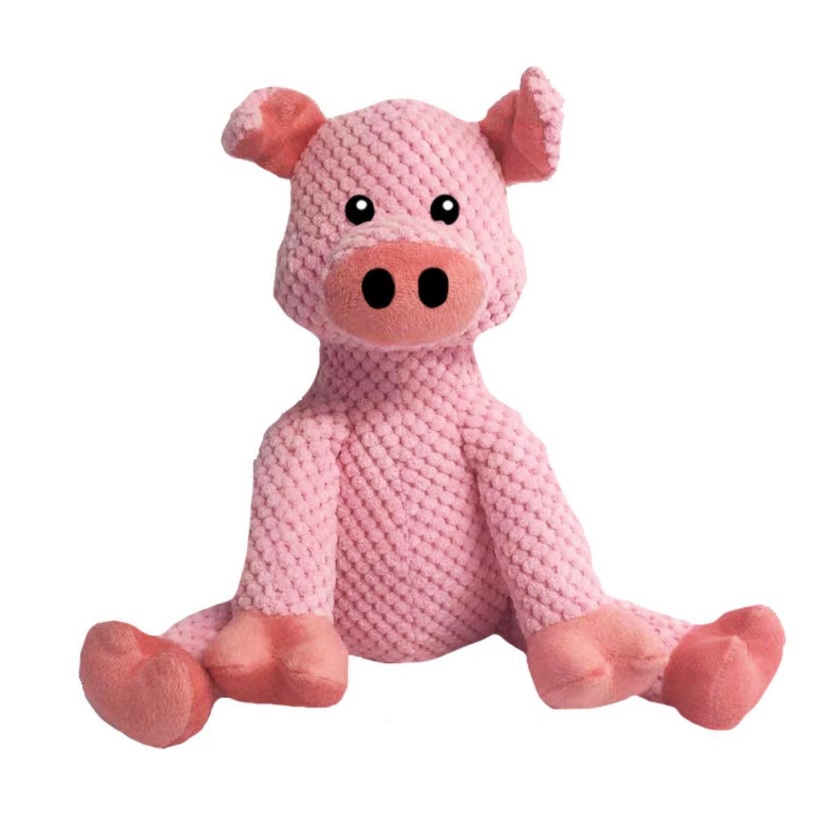 fabdog® Floppy Friends Dog Toy - Pig