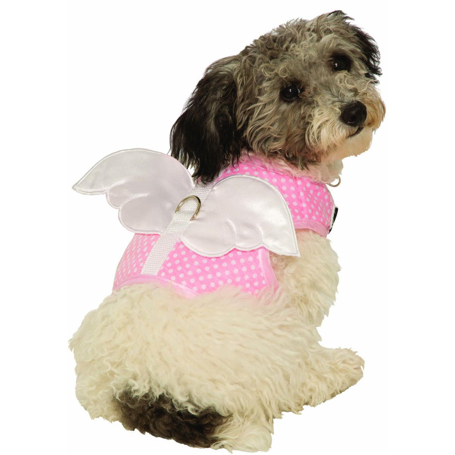 Fairy and Angel Wing Dog Harness Costume