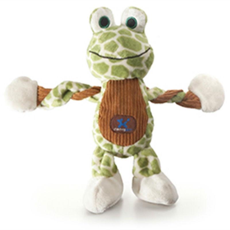 Farm Pulleez Dog Toy - Frog