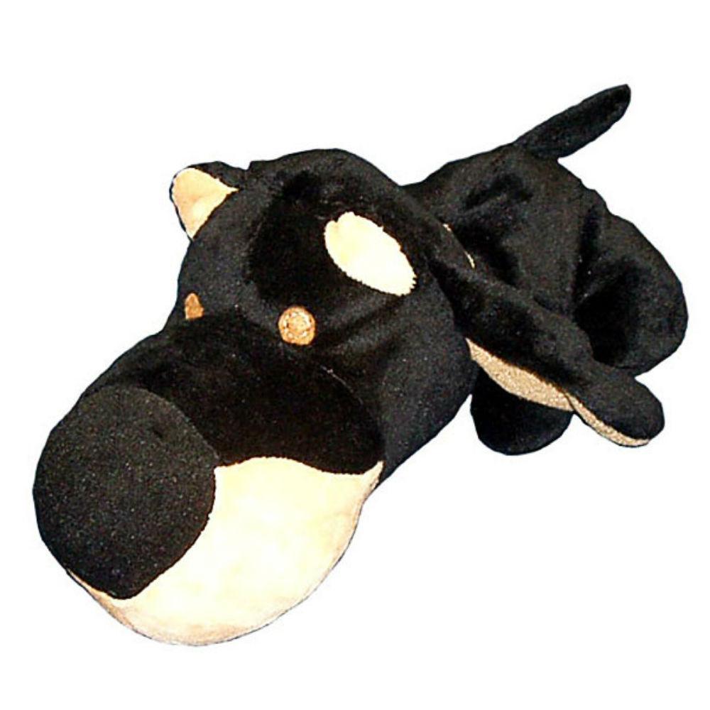 FatHedz Mini Plush Dog Toy - Doberman