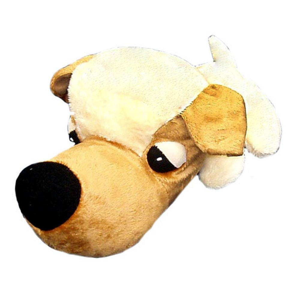 FatHedz Mini Plush Dog Toy - Golden