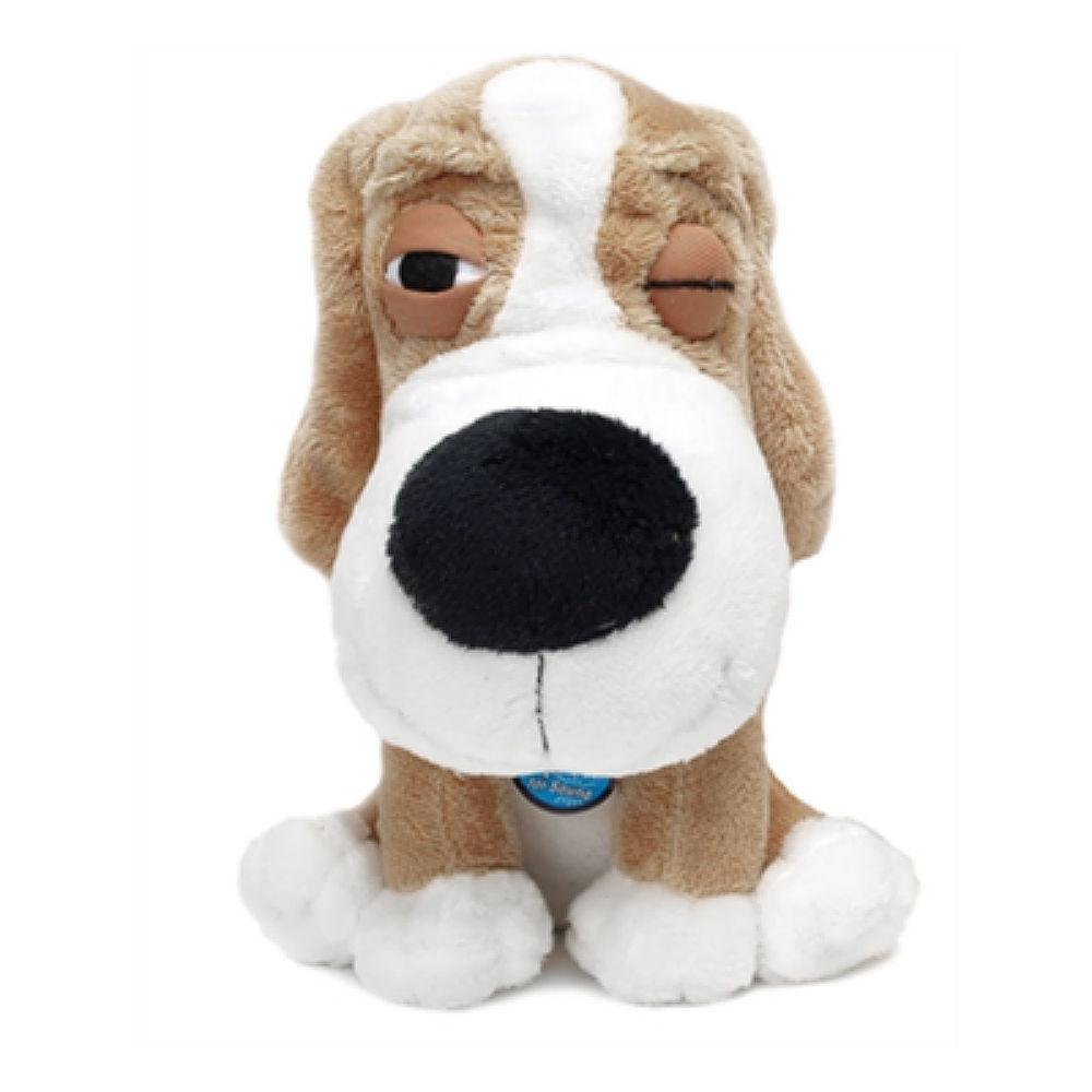 SleepeeZ Plush Dog Toy - Beige
