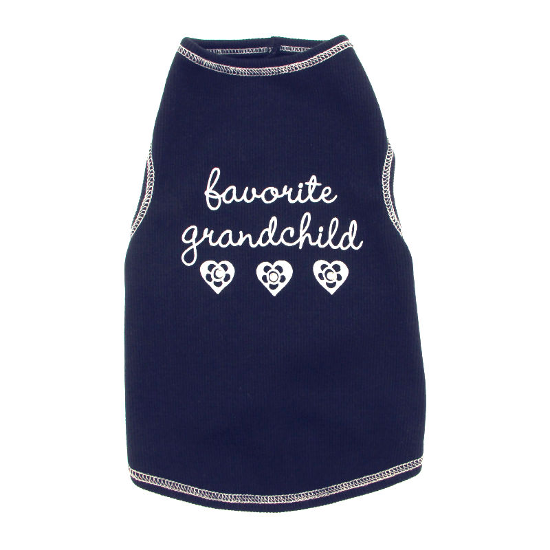 Favorite Grandchild Ribbed Tank Top