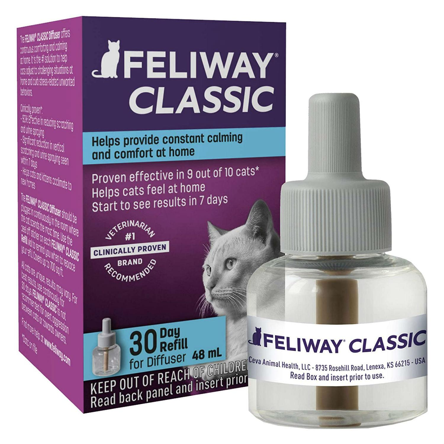 Feliway Classic Calming Diffuser Refill for Cats
