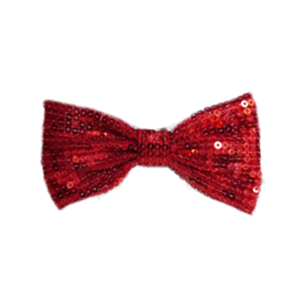 Felix Dog Bow Tie Collar Attachment - Red