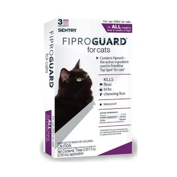 FiproGuard Topical Flea/Tick 3-Month Cat Treatment