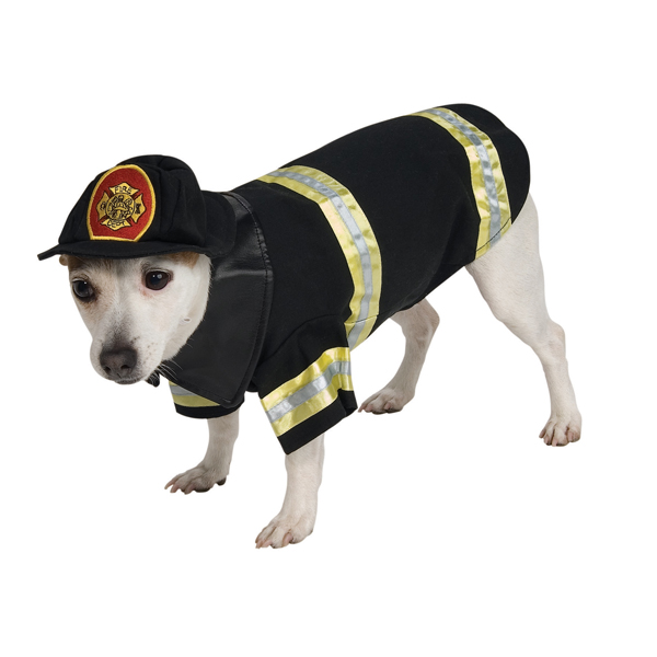 fire fighter dog halloween costume