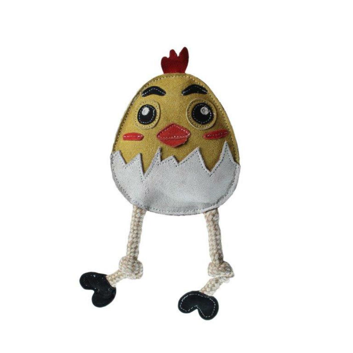 Flattie Dog Toy by Aussie Naturals - Chicken