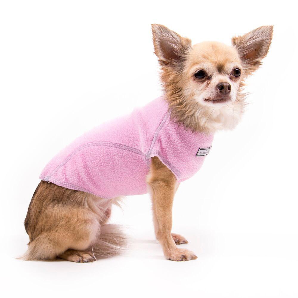 Fleece Jumper Dog Sweater by My Canine Kids - Pink