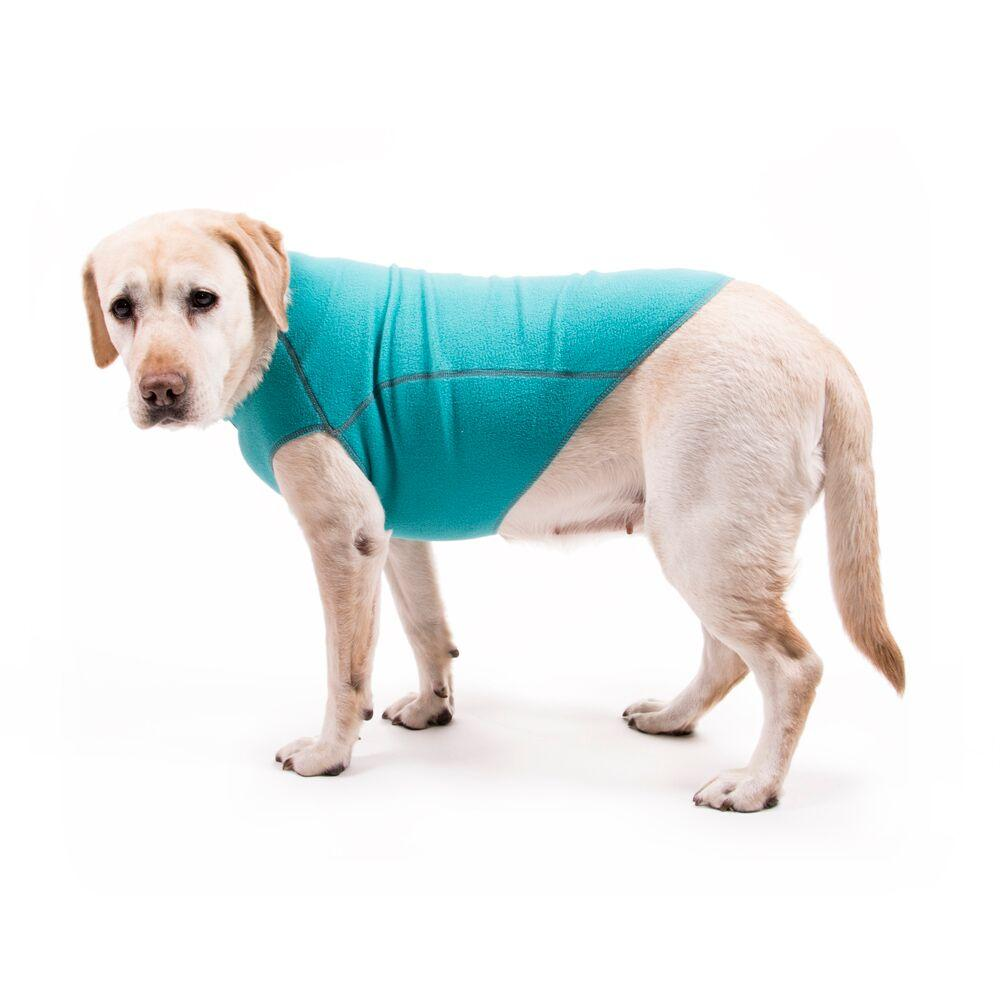 Fleece Jumper Dog Sweater by My Canine Kids - Turquoise